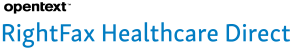 OpenText_RightFax_Healthcare_Direct_Logo