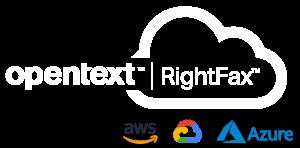 OpenText_RightFax_Cloud_Hosted_AWS_Azure_Google_Cloud_Logo